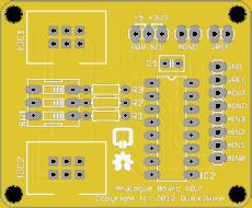 Q2W pcf8591 board
