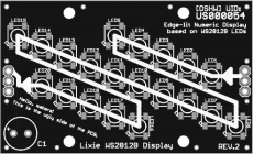 Lixie Digit PCB