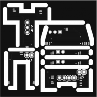 Light PCB for BR81, V36, V180, V130 Scale TT 1:120