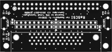 RaSCSI Direct Pi Zero PCB