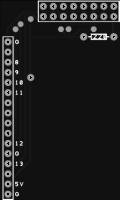 Arduino GPS shield LCD adaptor