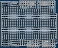Simple Arduino prototyping shield