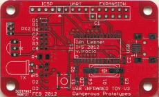 USB IR Toy v3 PCB